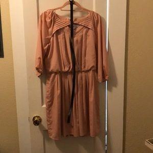 Blush Jessica Simpson dress